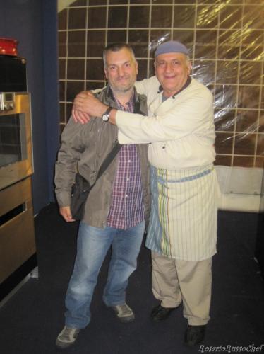Con Antonio Tubelli Maestro Cucina Antica Napoletana