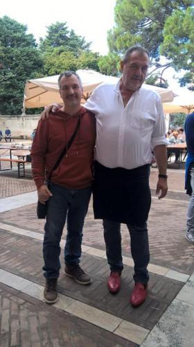 Con Gianfranco Vissani