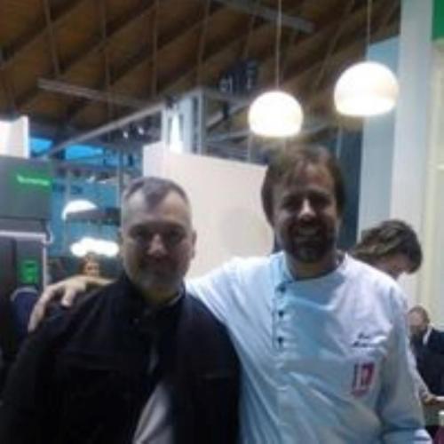 Con Luca Montersino