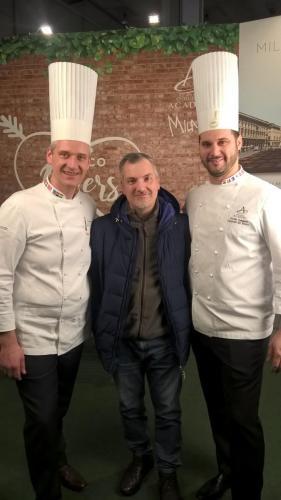 Con Luigi Biasetto e Davide Comaschi